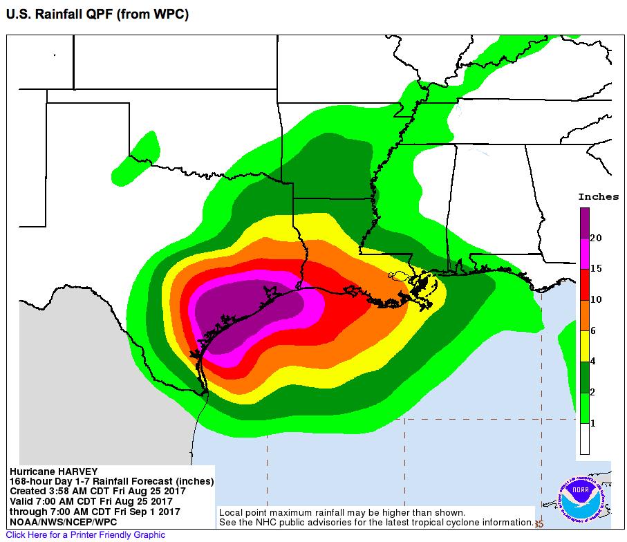 Hurricane Hal s Storm Surge Blog Harvey s pound Rain Surge