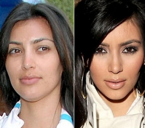 Kim Kardashian Tanpa Make Up