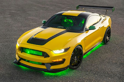 Shelby GT350 'Ole Yeller' (2016) Front Side