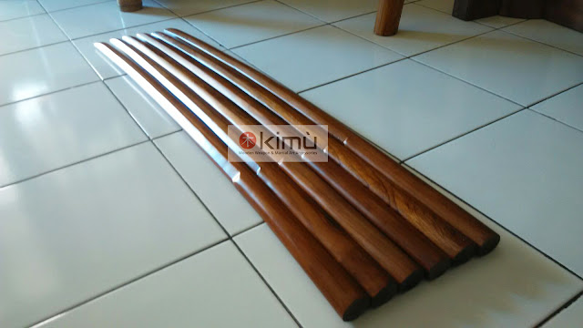 Bokken (Pedang Kayu) Jati Finishing Clear