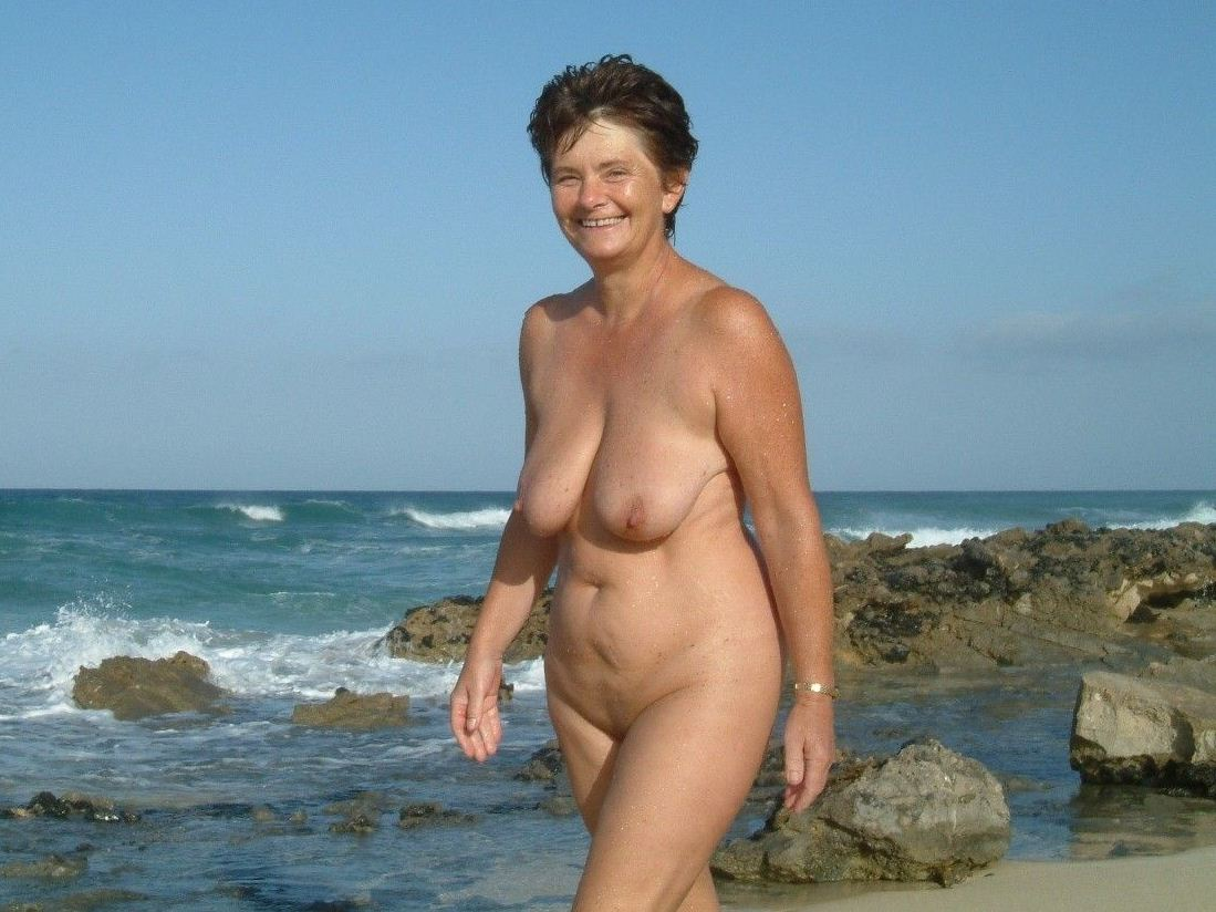 First stop the nudist beach