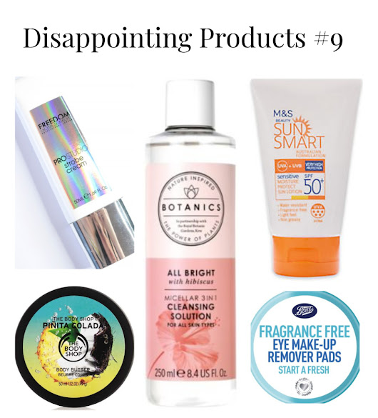 Disappointing products #9