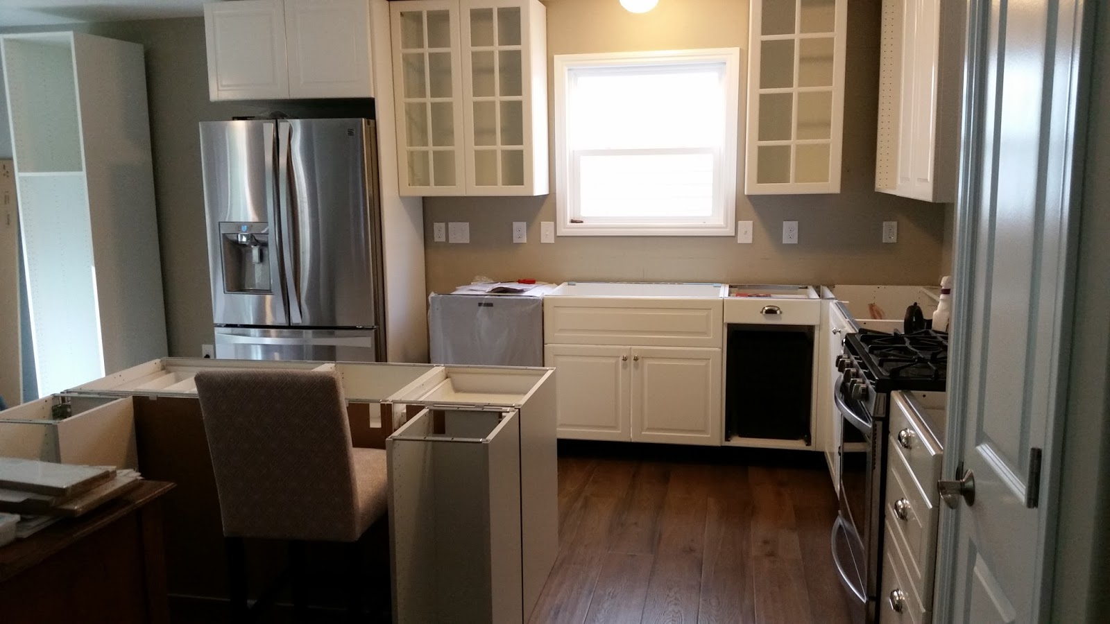 How To Install Ikea Kitchen Cabinets Cricut Cardiologist Continued Updating A Builder Basic