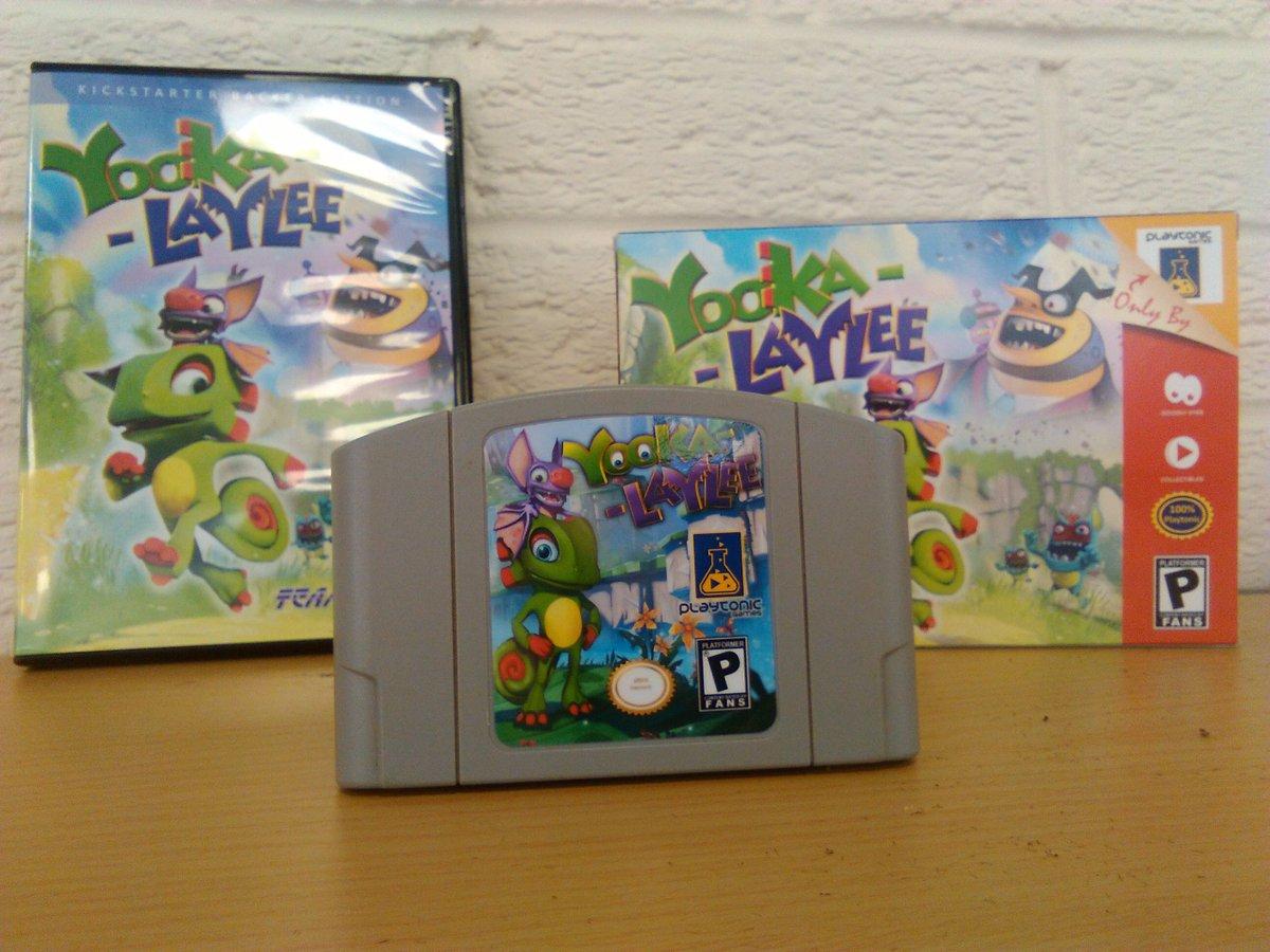 Yooka-Laylee tendrá una edición muy especial con cartucho de Nintendo 64