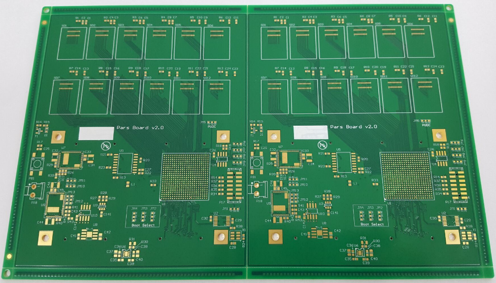HDI PCB with mixed blind-buried-Via: 8 Layer HDI PCB with Blind