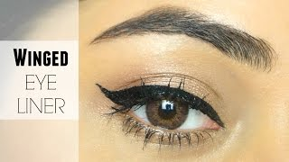 How to do a Winged Eyeliner | Makeup Basics