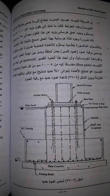 شرح تصميم قواعد الأعمدة المعدنية للدكتور عبد الرجمن مجاهد