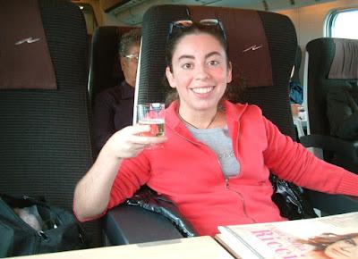 Silvana Calabrese viaggia in prima classe VIP