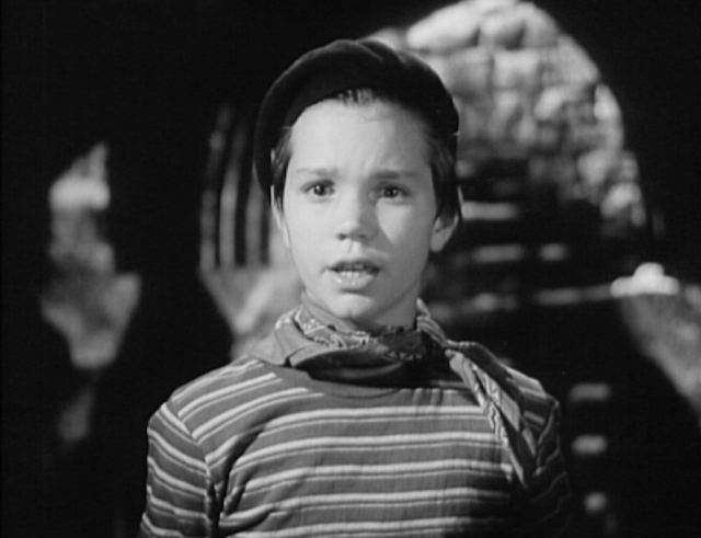 Darryl Hickman in Assignment in Brittany (1943)