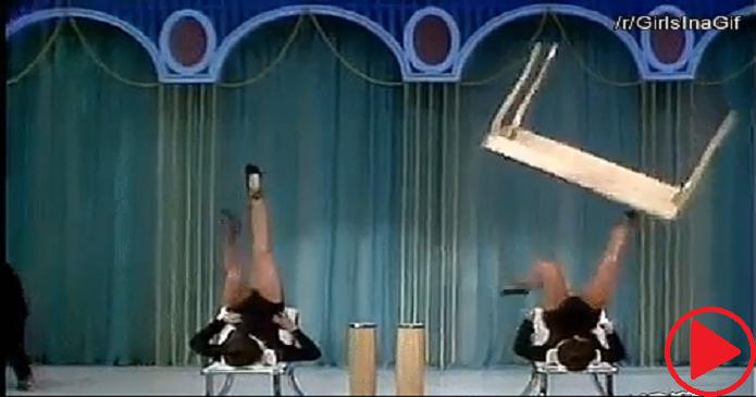 Foot Juggling On TV In 1969.