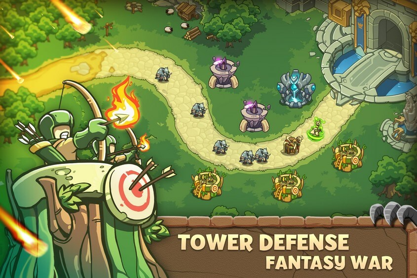 [FREE] Download Empire Warriors: Tower Defense TD Strategy Games for Android