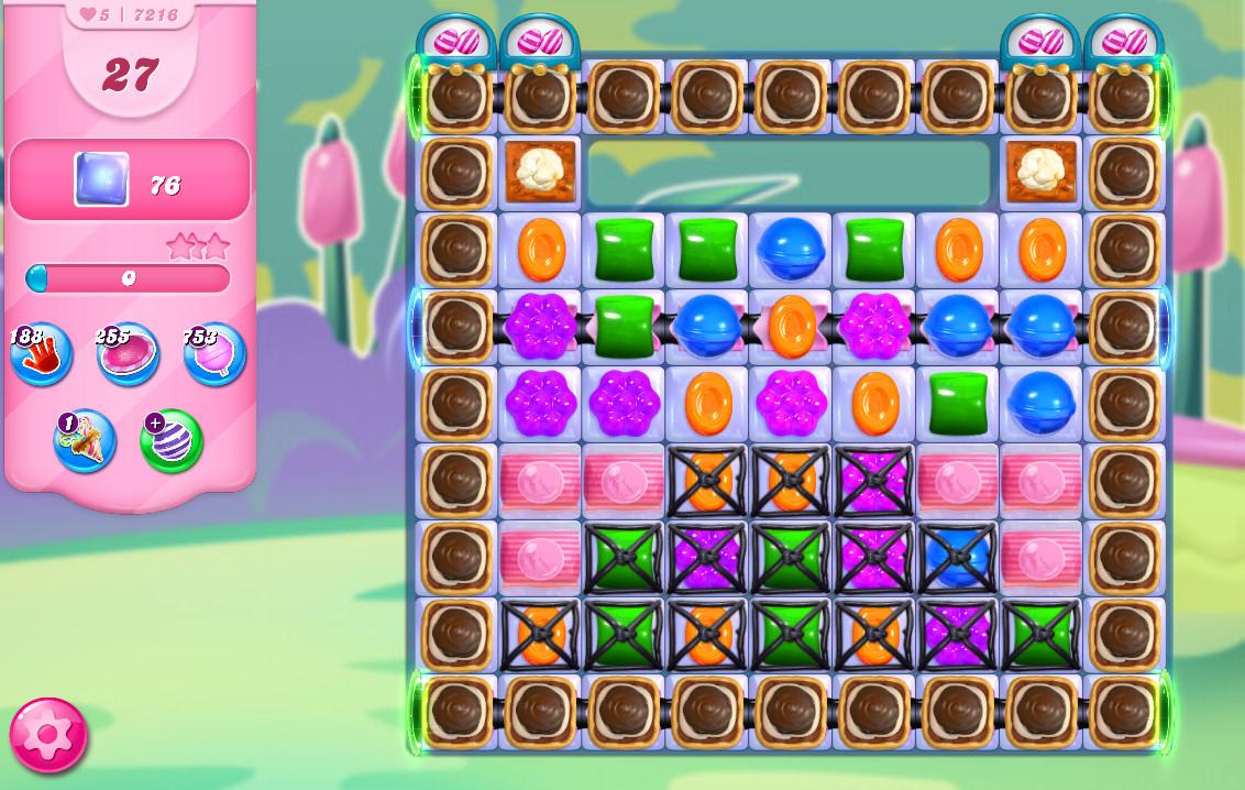 Candy Crush Saga level 7216