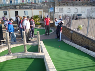 The Knowley Grail of Minigolf