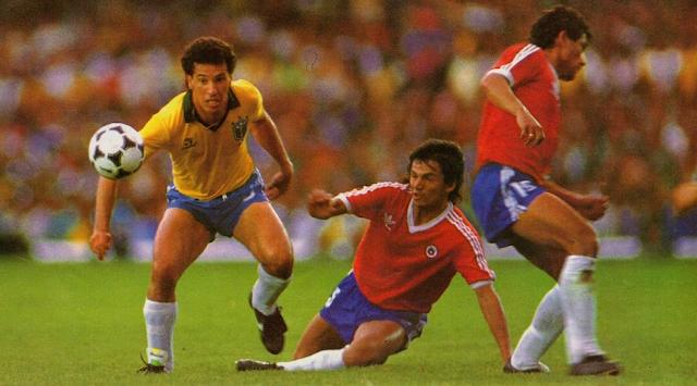 Brasil y Chile en Clasificatorias a Italia 1990, 3 de septiembre de 1989