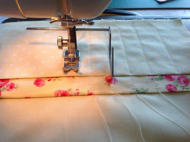 sewing machine foot and top stitching