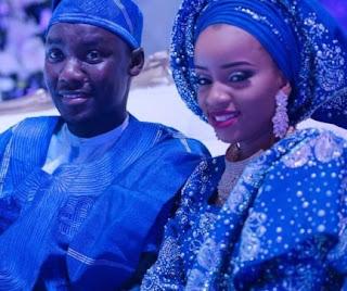 Tunde Shaibu and wife