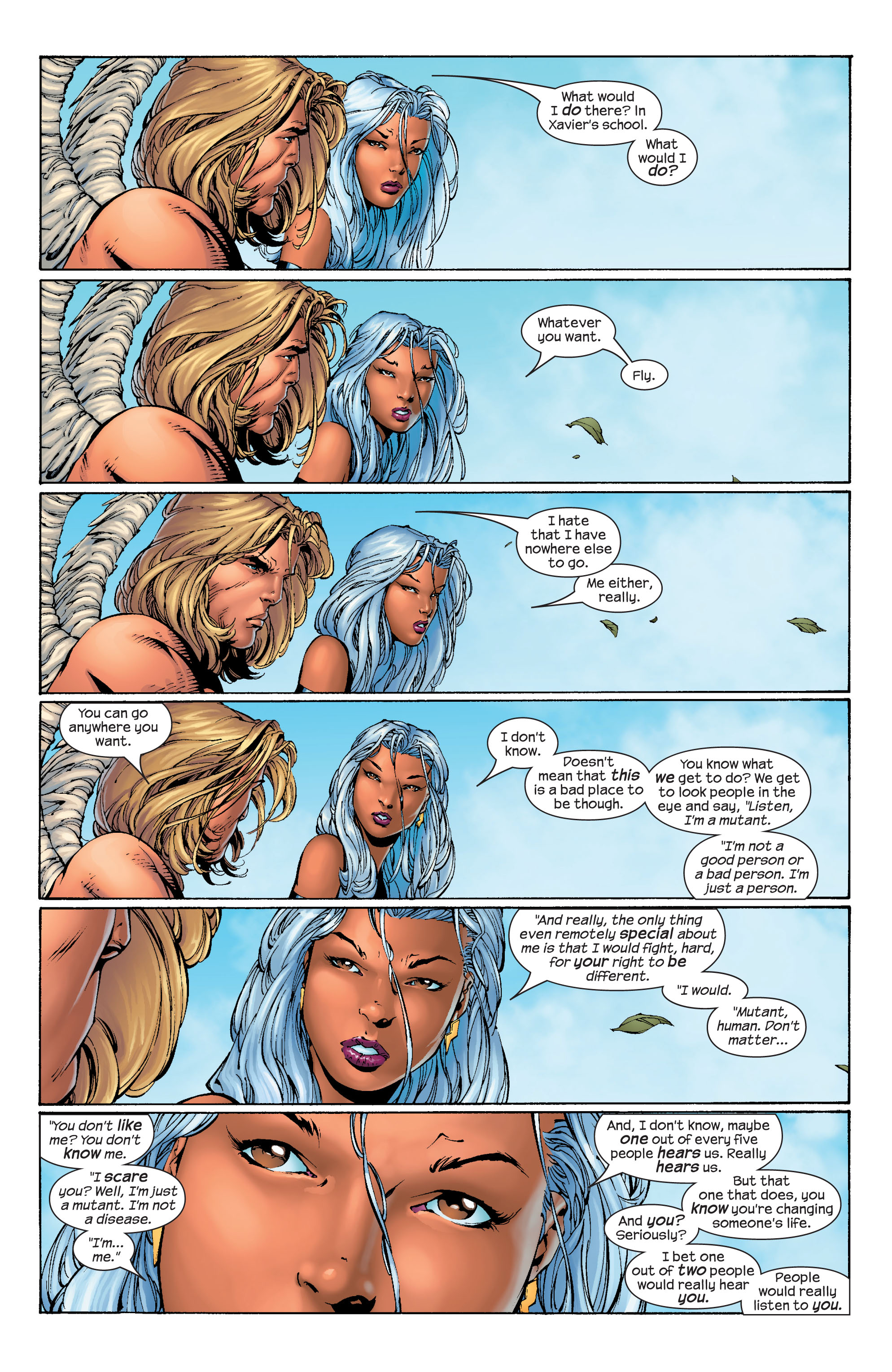 Read online Ultimate X-Men comic -  Issue #40 - 17