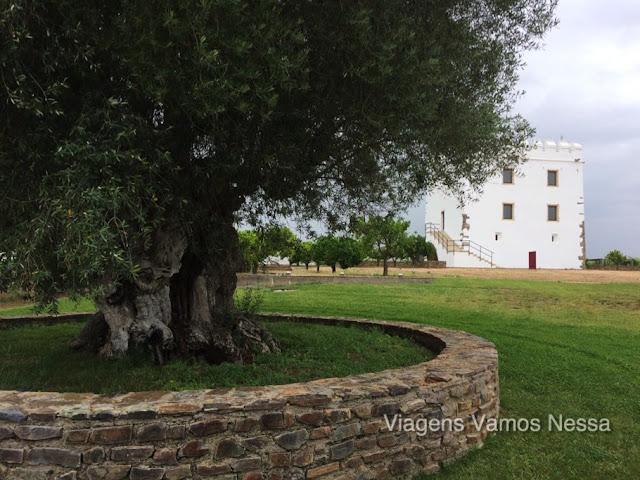 Centro histórico da vinícola Herdade do Esporão.