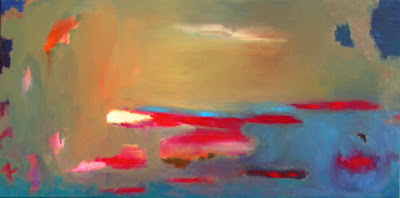 A Break in the Clouds painting by Artist Allison Reece