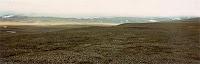 Paisaje de la tundra de Wrangel