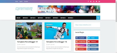 Templates Galeria Blogger Top Best Gamer
