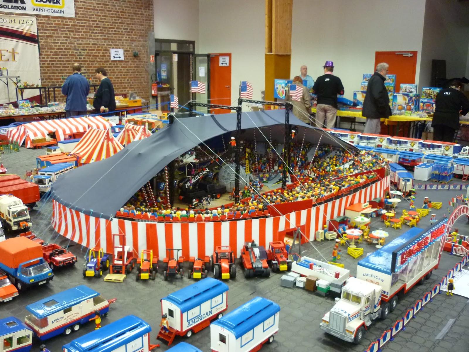 Wonderbaar Circusmodellbau: American Circus Playmobil DI-48