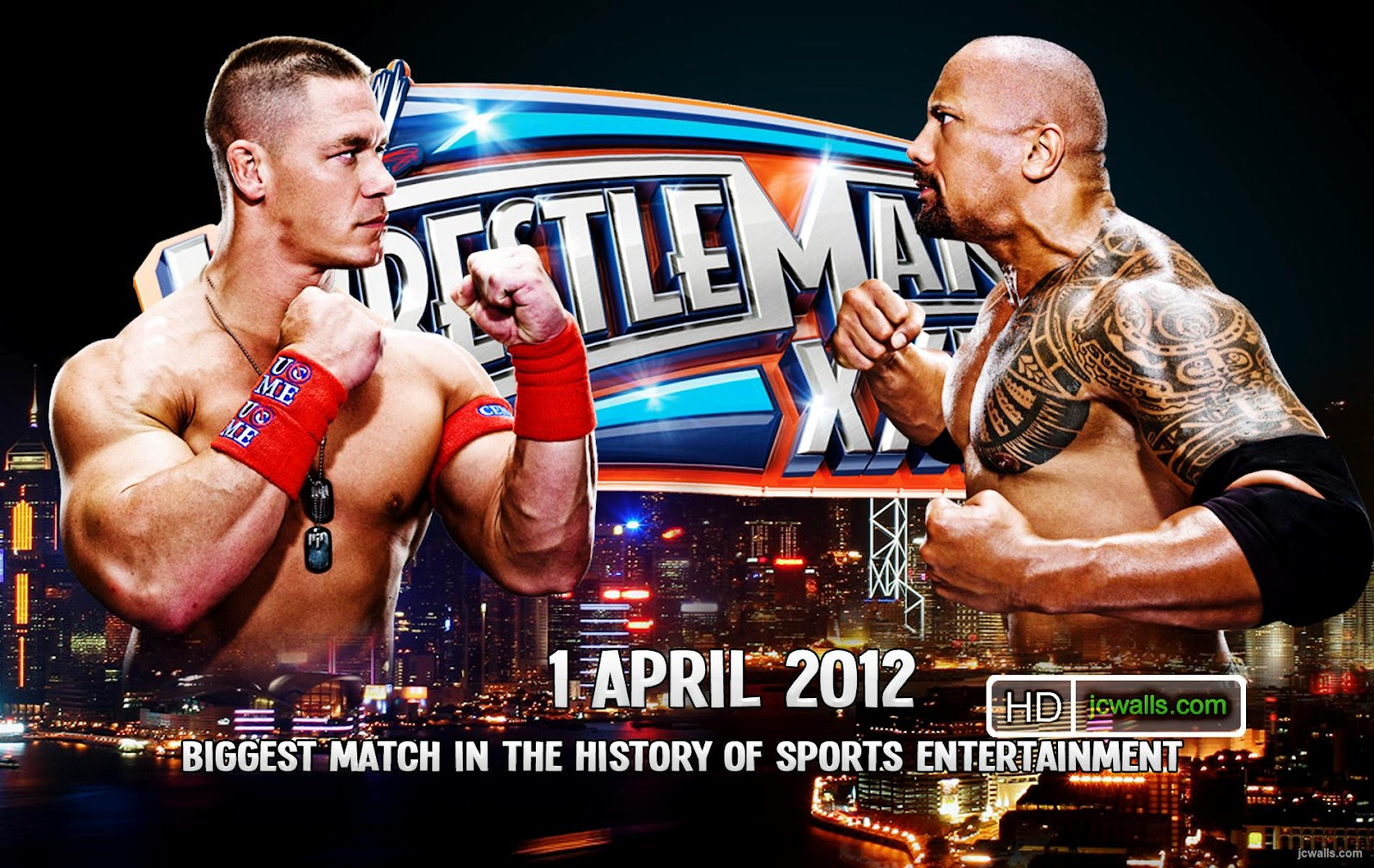 john cena vs the rock