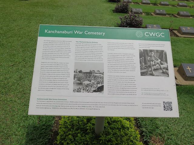 Cementerio de la Guerra de Kanchanaburi