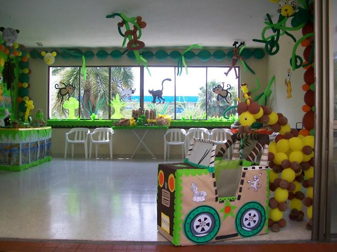 Decoración Fiesta Infantil De Safari Imagui