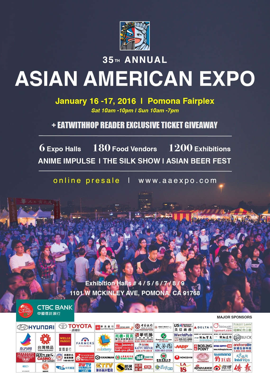 CELEBRATE THE YEAR OF THE MONKEY AT ASIAN AMERICAN EXPO + TICKET GIVEAWAY - POMONA FAIRFLEX