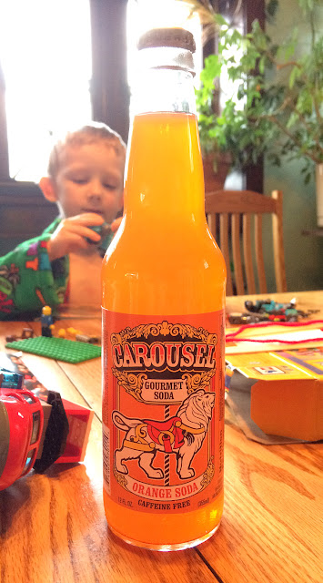 Carousel Orange Soda
