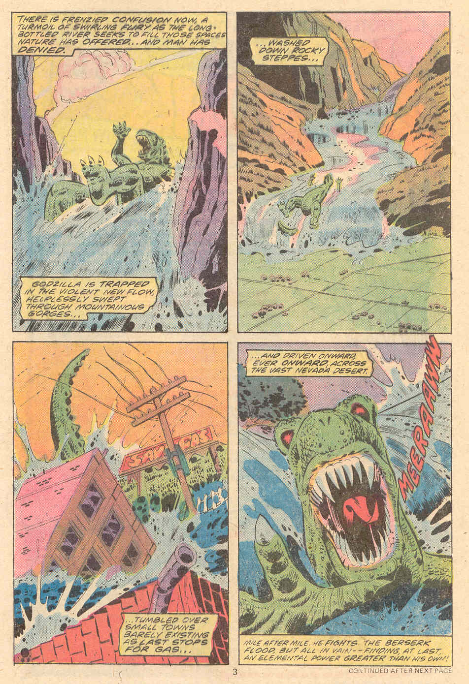 Godzilla (1977) Issue #9 #9 - English 4