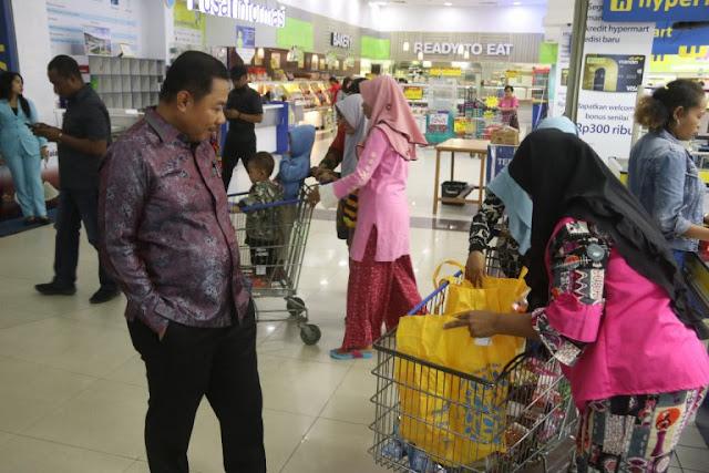 Rustan Saru Imbau Masyarakat Kota Jayapura Tidak Panik Corona Virus dan Belanja Berlebihan
