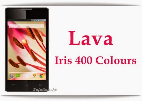 Specifications and price of Lava Iris 400 Colours