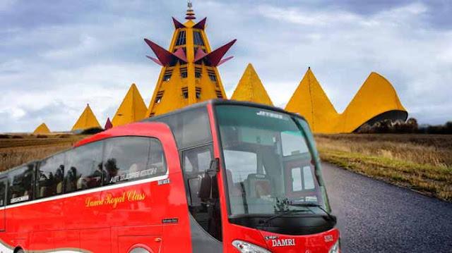 Harga Tiket Bus Bekasi Lampung Naik Damri