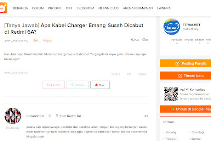 Pengguna Xiaomi Wajib Gabung di Forum Mi Community