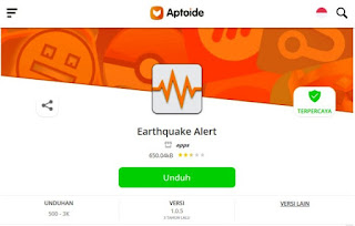 alert earthquake