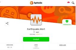 """Aplikasi Android Alarm Jika terjadi Gempa """" Earthquake Alert """""""