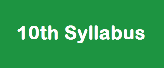 10th Standard Monthly Syllabus Tamilnadu State Board