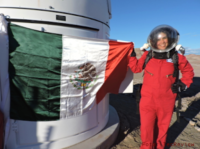 Carmen Félix Astronauta