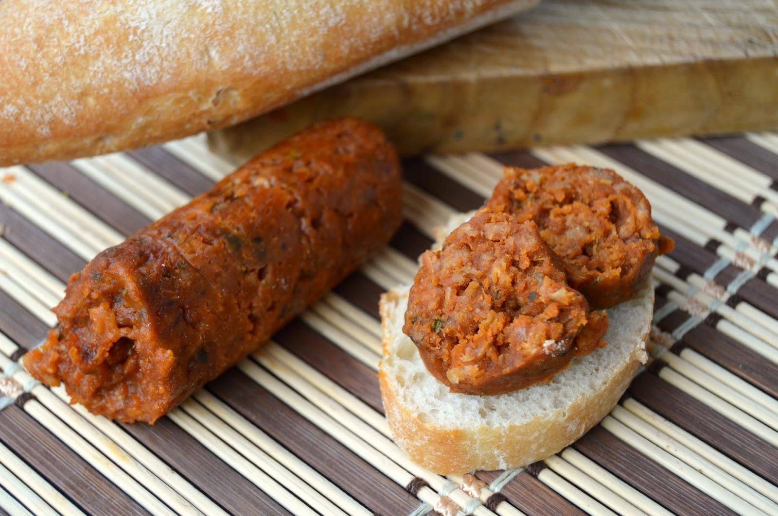Pasión Y Tentación Chorizo Vegano De Soja