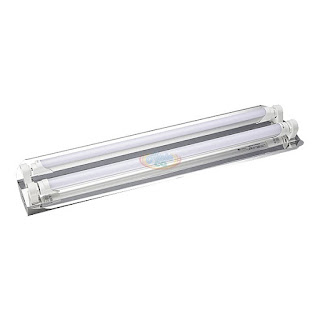 T8 LED工事燈 2呎2燈型