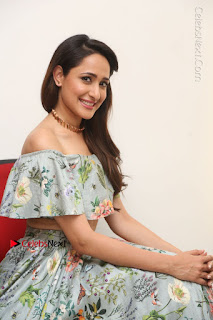 Actress Pragya Jaiswal Stills in Floral Dress at turodu Interview  0162.JPG