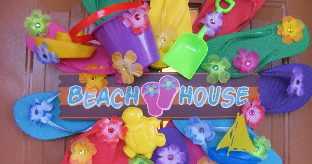 Hollyshome Family Life A Flip Flop Wreath