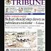NAIJA NEWSPAPERS: TODAY'S THE TRIBUNE NEWSPAPER HEADLINES [9TH OCTOBER, 2017].