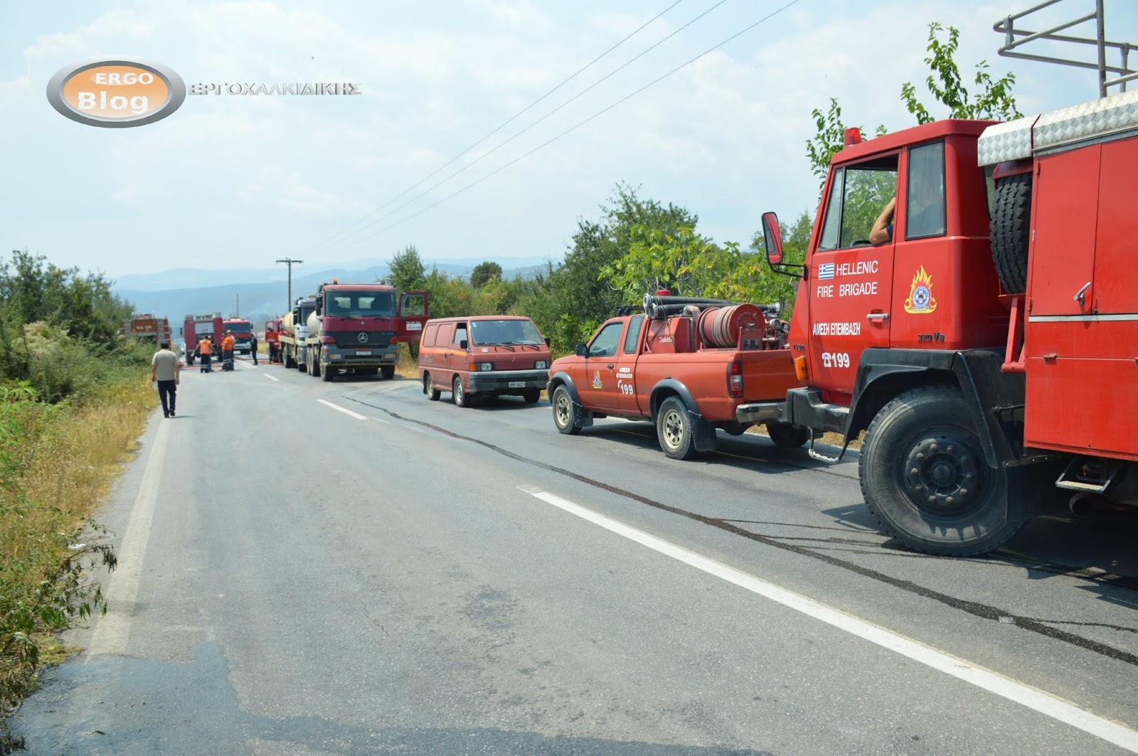 ΥΨΗΛΟΣ κίνδυνος πυρκαγιάς για αύριο Σάββατο στο Δήμο Αριστοτέλη
