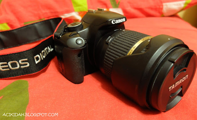 Canon EOS 450D With Tamron 18-270mm