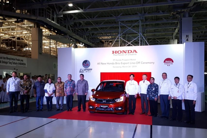 Rayakan 20 Tahun di Indonesia, Honda Ekspor All New Brio