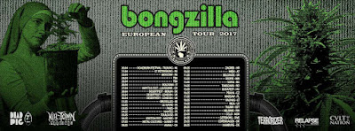 bongzlla european tour 2017