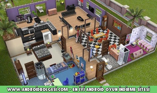 the sims freeplay hile mod apk indir